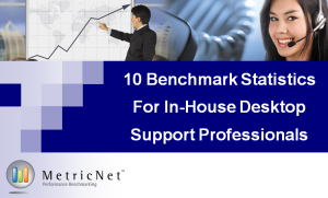 10 MetricNet Benchmarking Statistics for In-House Desktop Support Professionals