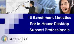 10 MetricNet Benchmarking Statistics for In-House Desktop Support Professionals
