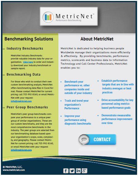 MetricNet Brochure HDI 2014