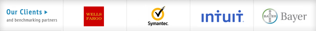 MetricNet clients include Desjardins, Symantec, WellStar, and GM.